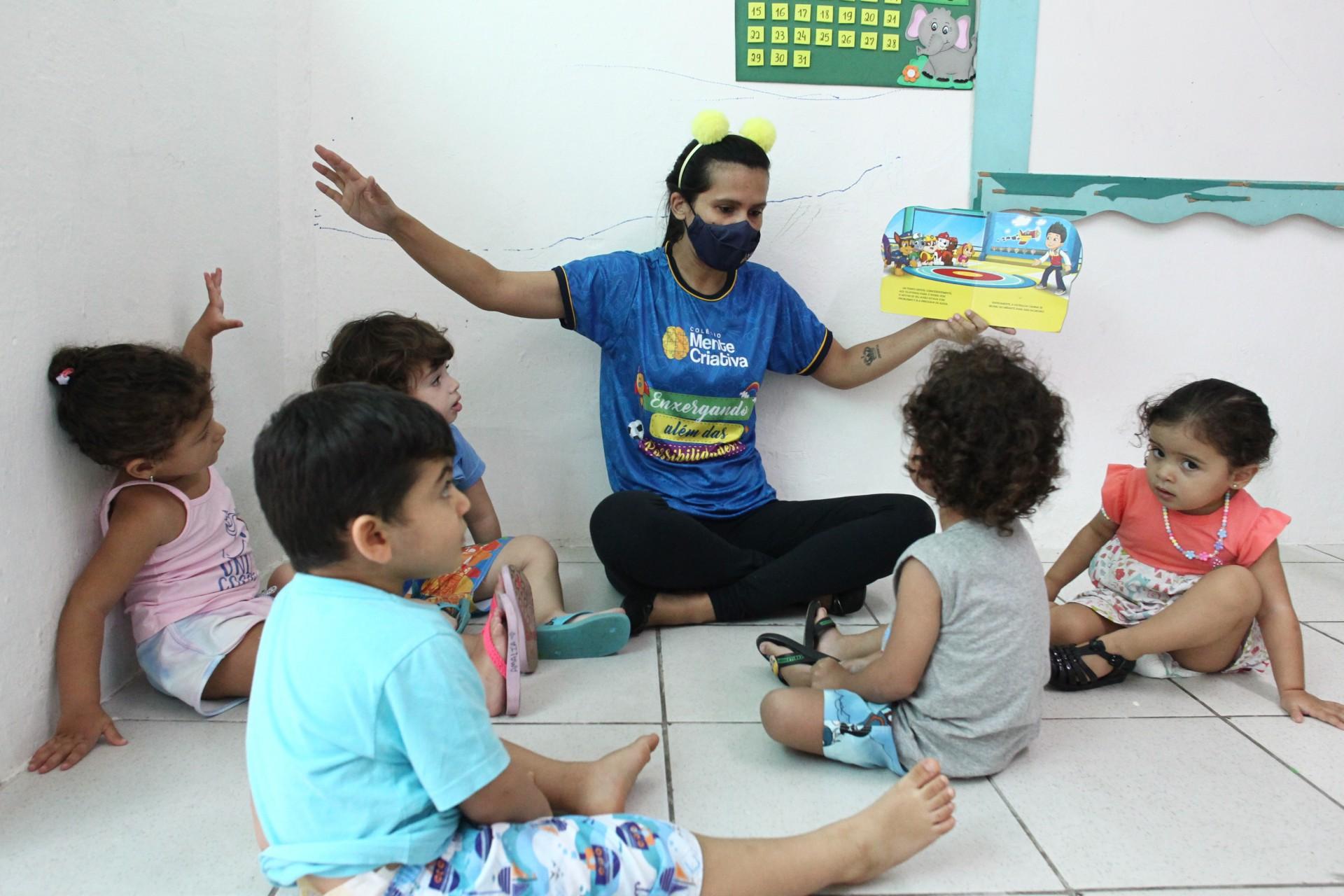 ESCOLA DE ENSINO infantil, Mente Criativa, no Passaré, conta com turmas adaptadas