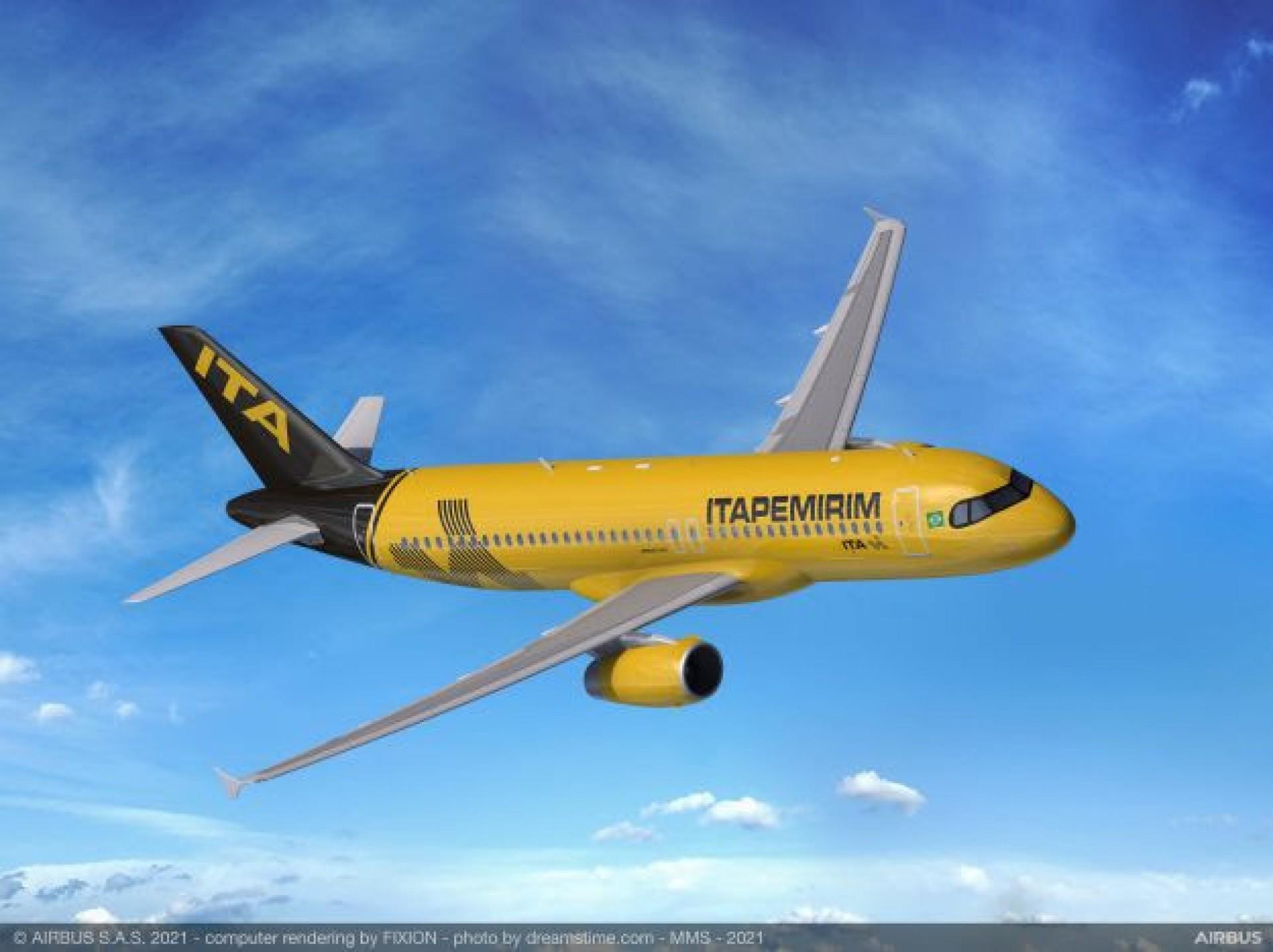 A primeira aeronave da nova companhia aterrissou em solo brasileiro no último dia 20