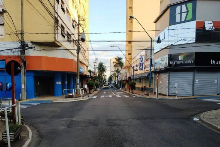 Araraquara encerra lockdown às 23h59 de hoje (Foto: )