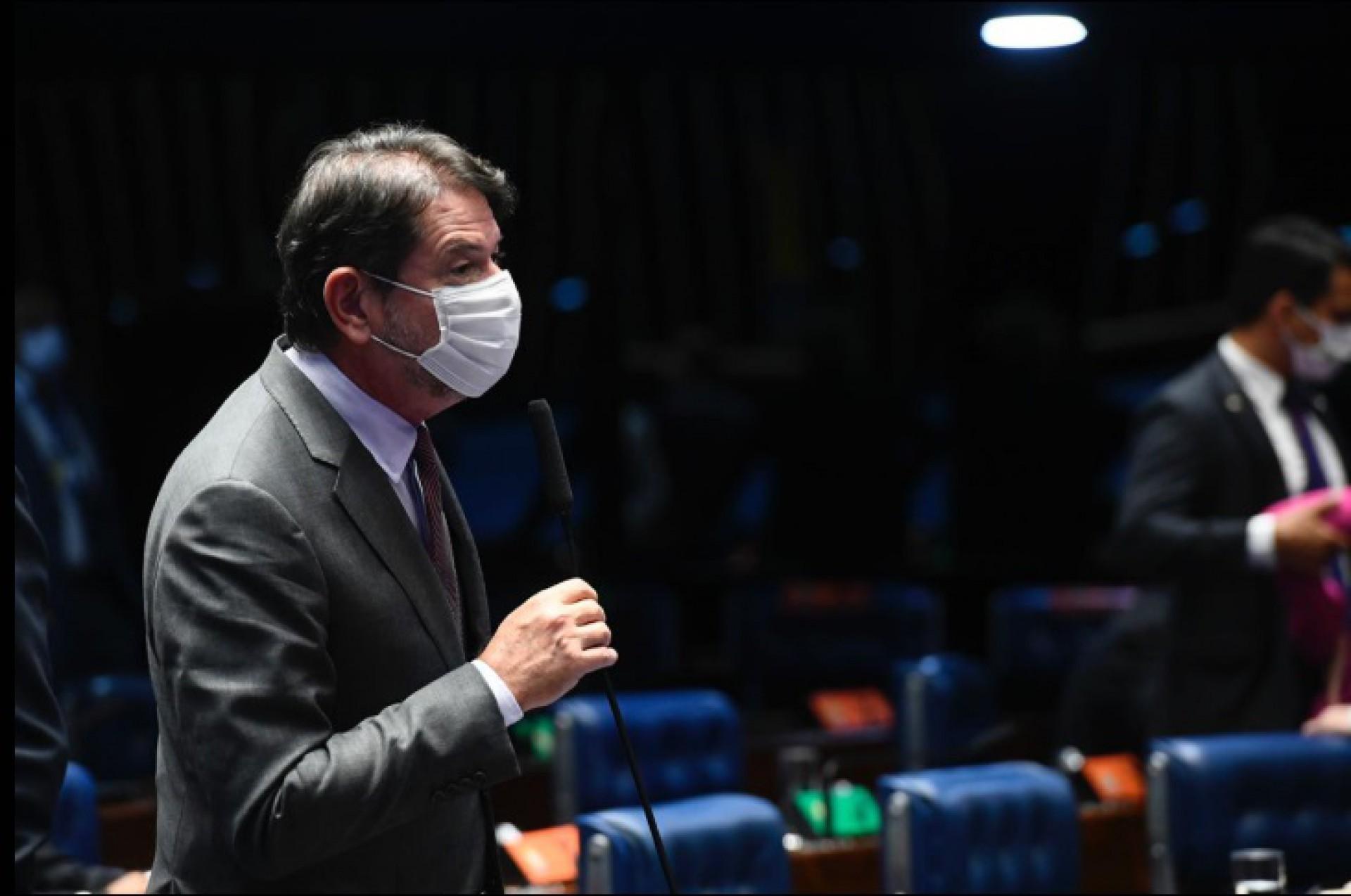 Cid Gomes é senador pelo Ceará (Foto: DIVULGAÇÃO)