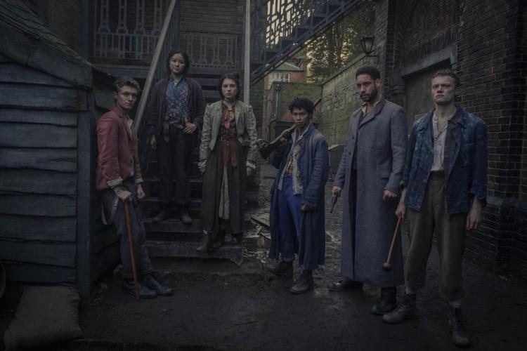'Os Irregulares de Baker Street', que acontece dentro do universo de Sherlock Holmes, estará disponível na Netflix a partir do dia 26 de março (Foto: Matt Squire/ Netflix)