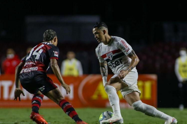 Ídolo tricolor, Pita crê em São Paulo motivado para encarar Flamengo (Foto: Miguel Schincariol)