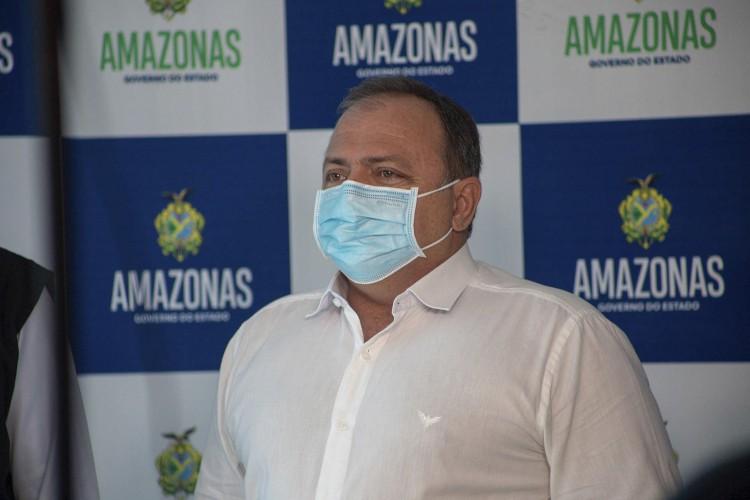 O Ministério da Saúde, comandado por Eduardo Pazuello, admitiu o erro que mandou 76 mil doses de vacina contra Covid-19 para uma capital 1 mil quilômetros distante da outra (Foto: Caio de Biasi/MS)