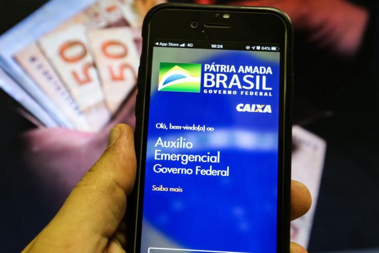 Saque do auxílio emergencial (Foto: Marcello Casal JrAgência Brasil)