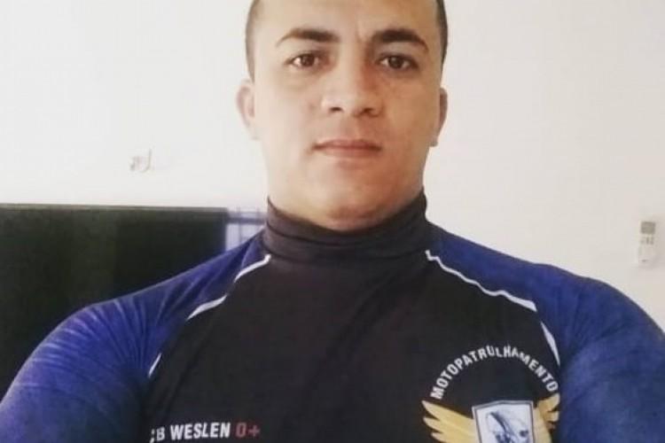 O cabo Weslen Monção morreu na Santa Casa de Sobral após ser baleado em um assalto em Sobral. (Foto: Foto: Arquivo pessoal)