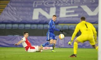 Leicester foi derrotado por 2 a 0 pelo Slavia Praha