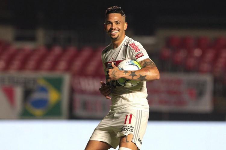 São Paulo garante vaga na fase de grupos da Libertadores (Foto: Miguel SCHINCARIOL)