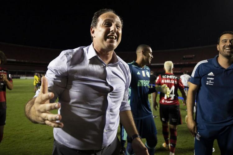 """Rogério Ceni: """"A torcida flamenguista amanhece mais alegre"""" (Foto: Lucas Figueiredo/CBF)"""