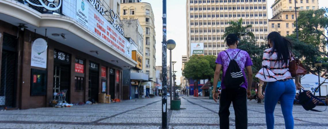 Proposta do comércio traz horários diferentes para lojas do Centro, Shoppings e restaurantes (Foto: BÁRBARA MOIRA)