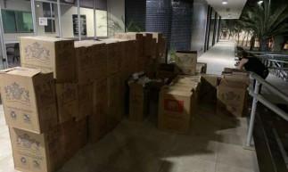 Homem é preso no Mondubim, suspeito de contrabandear 35.500 carteiras de cigarro