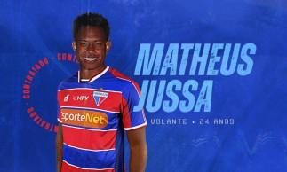 Matheus Jussa é o novo volante do Fortaleza