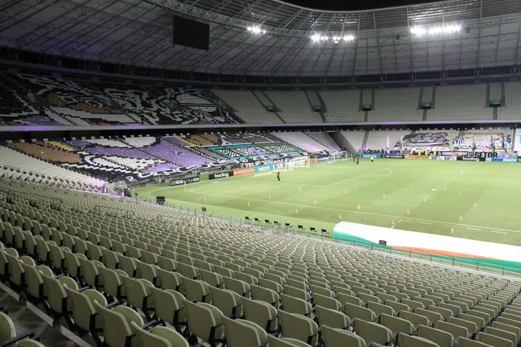 FORTALEZA,CE, BRASIL, 26.02.2021: Arena Castelão.  (Fotos: Fabio Lima/O POVO). (Foto: FABIO LIMA)