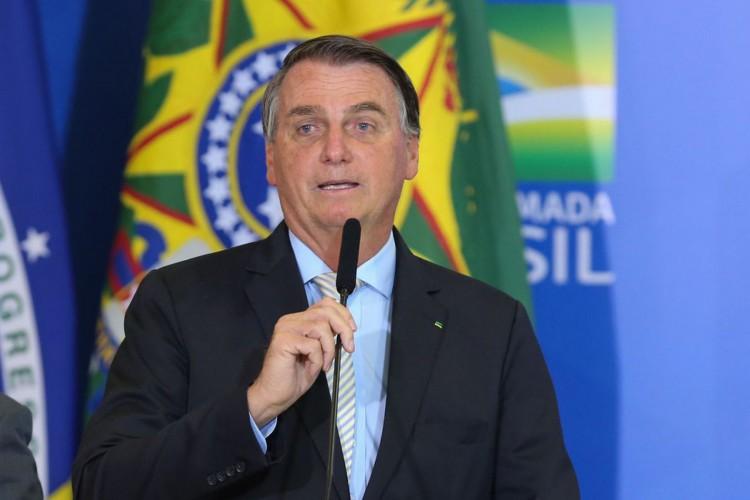 Presidente Jair Bolsonaro discursa após cerimônia de posse do Ministro de Estado da Cidadania, Joao Roma, e do Ministro de Estado Chefe da Secretaria-Geral da Presidência da República, Onix Lorenzoni e sanção da Lei da Autonomia do Banco Central (Foto: Fabio Rodrigues Pozzebom/Agência Brasil)