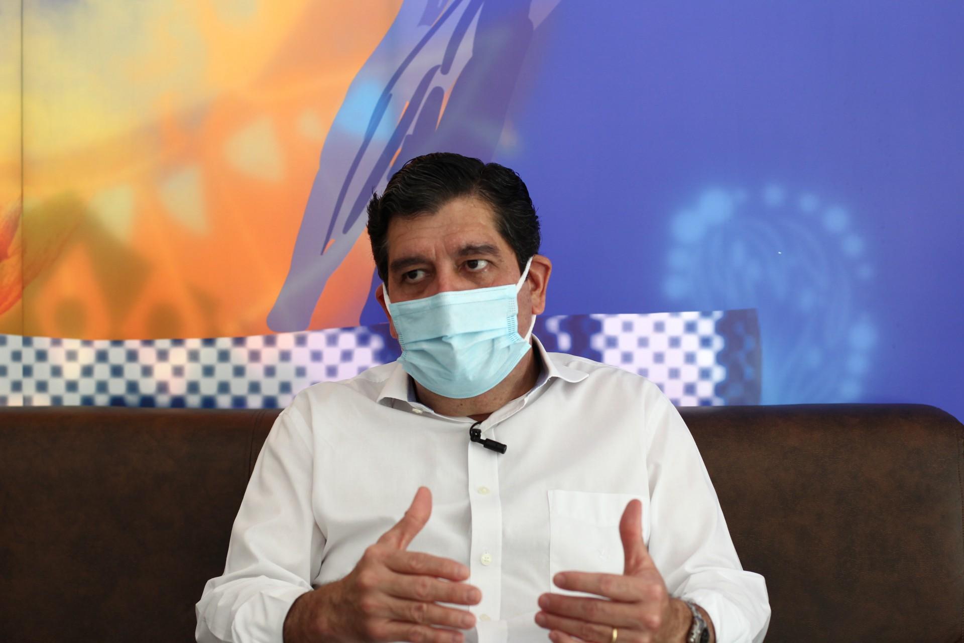 FORTALEZA,CE, BRASIL, 01.03.2021:  Dr. Cabeto, secretário de saude do estado. O POVO. (Fotos: Fabio Lima/O POVO)