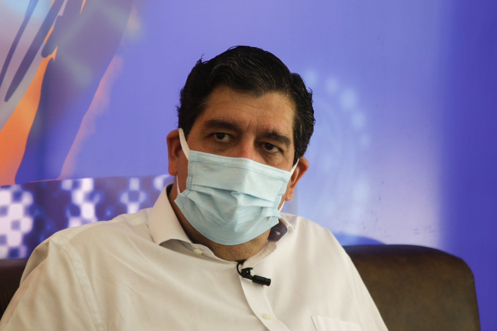 Carlos Alberto Rodrigues, o Dr. Cabeto, secretário estadual da Saúde