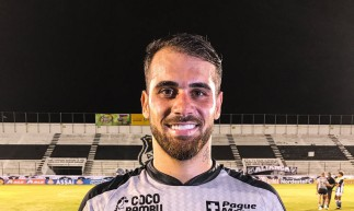 Felipe Vizeu foi eleito melhor em campo na partida entre ABC x Ceará