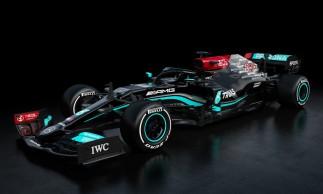 Mercedes exibiu carro que será usado na temporada 2021 da Fórmula 1