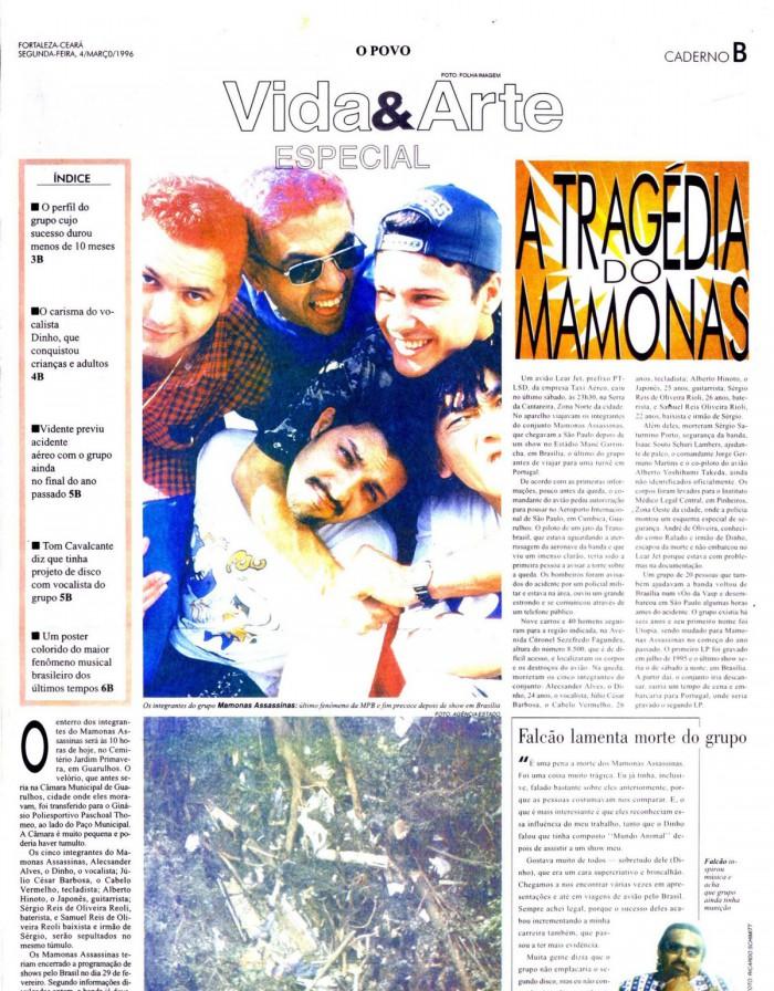 Vida&Arte produziu reportagem especial sobre o acidente que vitimou os Mamonas Assassinas