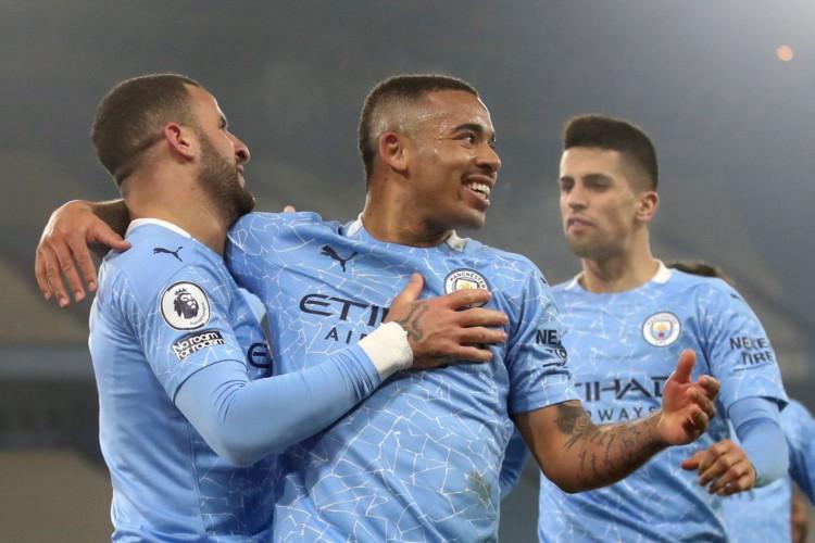Gabriel Jesus brilha e Manchester City vence no Inglês (Foto: )