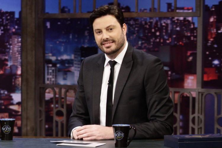 Apresentador e humorista Danilo Gentili  (Foto: DIVULGAÇÃO SBT)