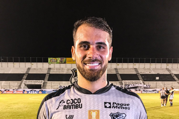 Felipe Vizeu foi eleito melhor em campo na partida entre ABC x Ceará (Foto: Felipe Santos/Ceará SC)