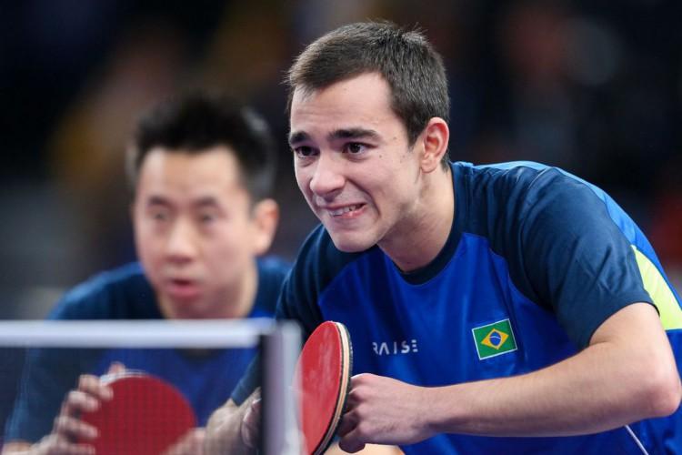 Tênis de mesa: Calderano e Tsuboi se enfrentam no WTT de Doha (Foto: )