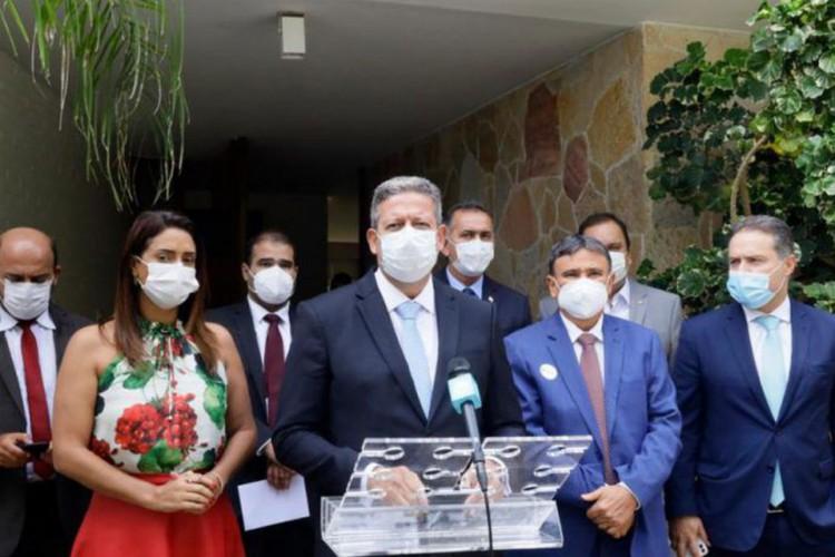 Lira: acordo com governadores destina R$ 14,5 bi para saúde (Foto: )