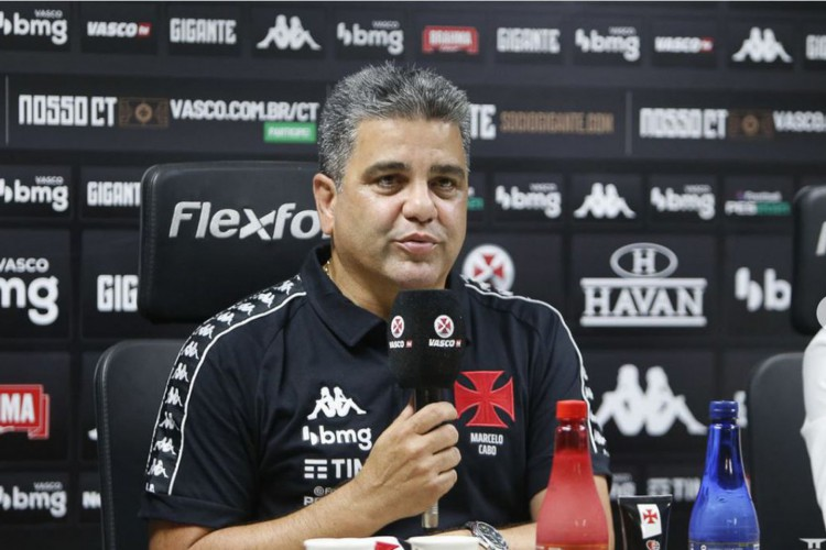 Marcelo Cabo chega ao Vasco confiante e promete time ofensivo (Foto: Rebeca Avelar Guillardi)