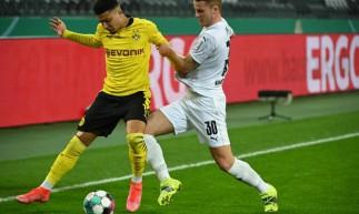 Jason Sancho fez o gol da vitória do BVB por 1 a 0 sobre o Monchegladbach