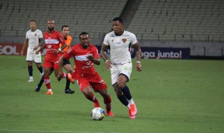 Fortaleza e CRB já se enfrentaram na temporada 2021, pela Copa do Nordeste
