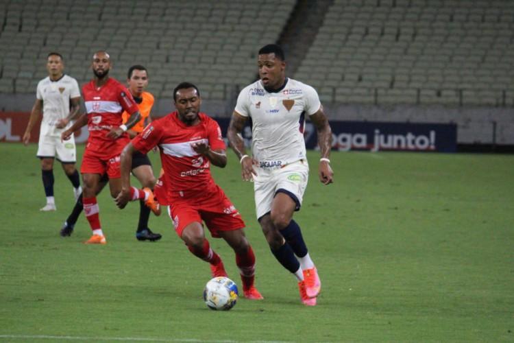 Fortaleza e CRB já se enfrentaram na temporada 2021, pela Copa do Nordeste (Foto: Divulgação/Fortaleza)