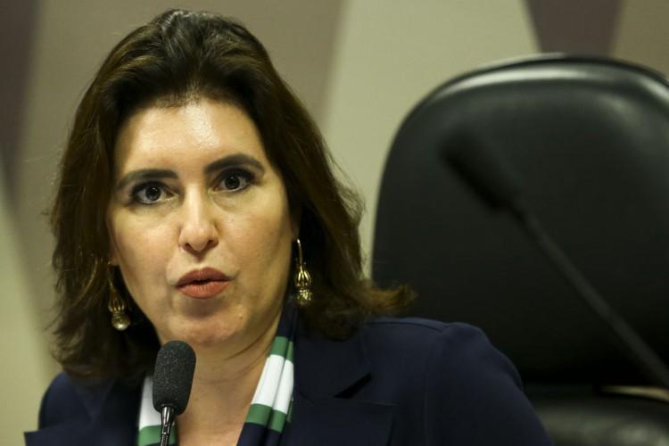 Simone Tebet, do MDB,  é senadora pelo Mato Grosso do Sul (Foto: Marcelo Camargo/Agência Brasil)