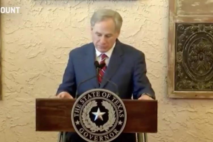 Governador do Texas anuncia abertura do comércio e o fim do uso obrigatório de máscara diante da pandemia de Covid-19 (Foto: Reprodução/ Twitter)