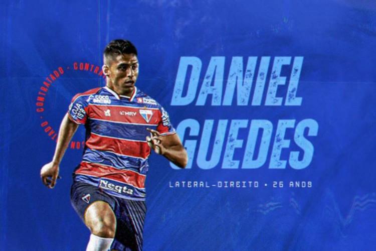 Daniel Guedes é lateral-direito e chega por empréstimo até o fim de 2021 (Foto: Divulgação / FortalezaEC)