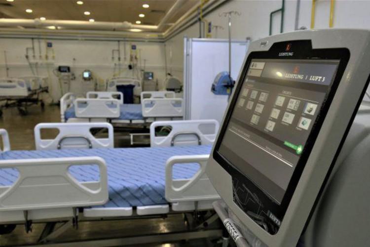 Hospital de Campanha de Salvador recebe primeiros pacientes (Foto: )