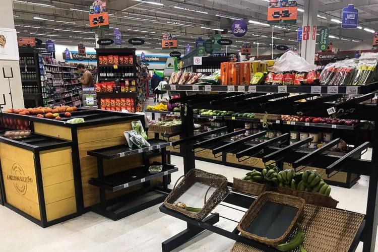Supermercados de São Paulo ainda enfrentam desabastecimento  de frutas, verduras e legumes após as fortes chuvas desta semana (Foto: Fernanda Cruz/Agência Brasil)