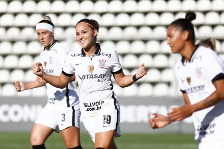 Corinthians aplica maior goleada da história da Libertadores Feminina (Foto: )