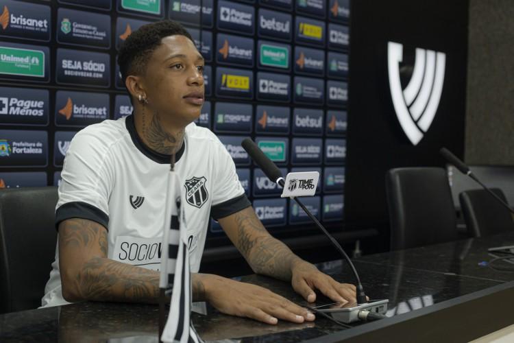 Jordan reforça o Ceará na temporada 2021 (Foto: Wilton Hoots/Ceará SC)