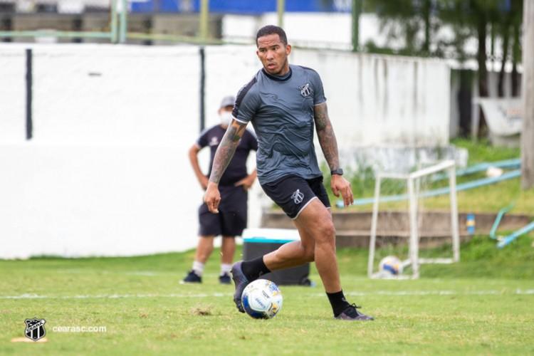 Jael tem contrato com o Ceará até o fim de 2022 (Foto: cearasc.com/divulgação)