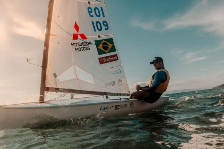 Vela: Jorge Zarif recebe barcos da Olimpíada para treinos no Brasil (Foto: )
