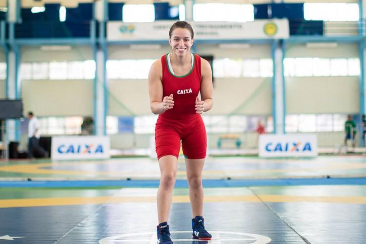 Wrestling: Giullia Penalber vira na final e fatura ouro na Itália (Foto: )