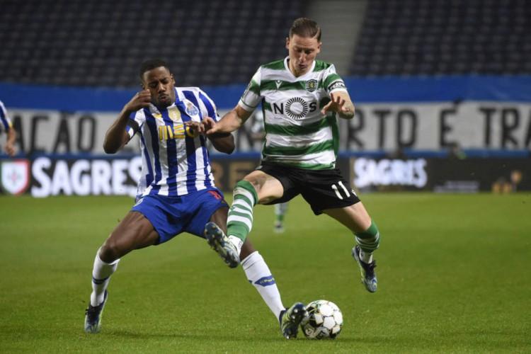 O último confronto do Sporting foi um empate sem gols com o Porto que resultou na perca do segundo lugar do Dragão (Foto: Miguel Riopa / AFP)
