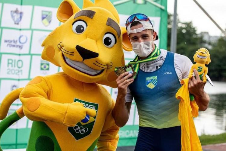 Remo: Lucas Verthein vence seletiva e está na Olimpíada de Tóquio (Foto: )