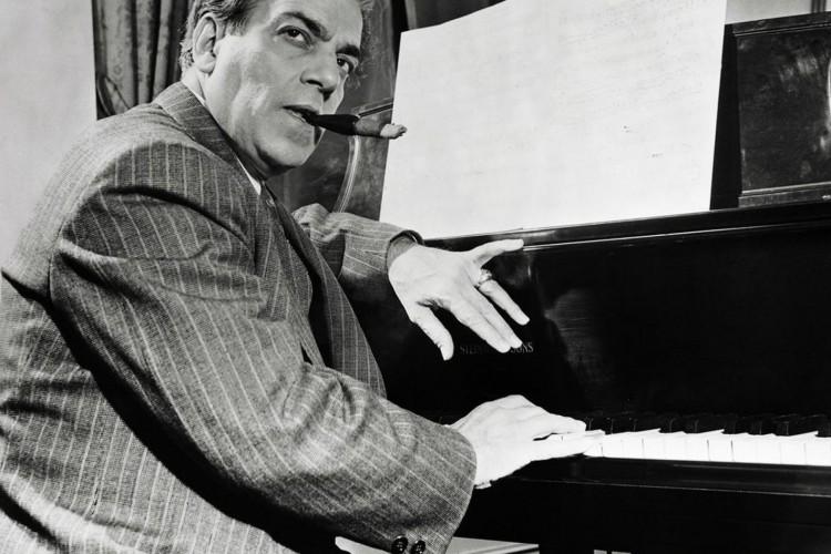 ORIGINAL CAPTION READS: Heitor Villa-Lobos (1881-1959), Brazilian Composer-Conductor at the piano. Undated photograph. (Foto: Bettmann)