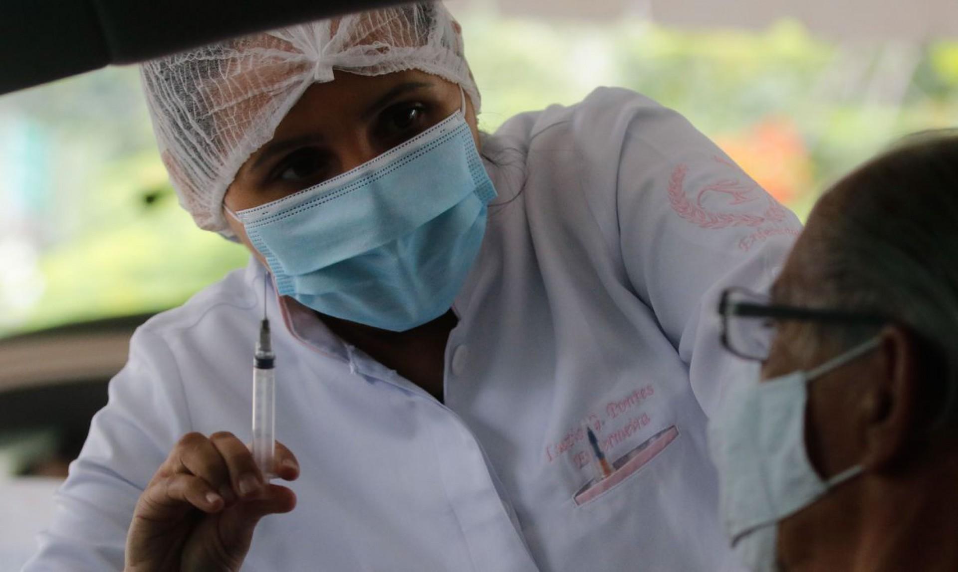 1 milhão de doses devem ser entregues pela Moderna até julho deste ano.  (Foto: Tânia Rêgo/Agência Brasil)