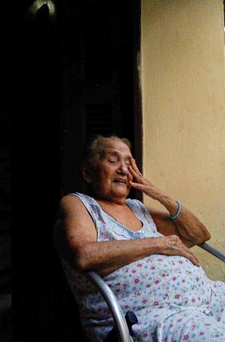 Aos 93 anos, dona Silvani está em isolamento rígido desde março de 2020(Foto: Registro Pessoal)
