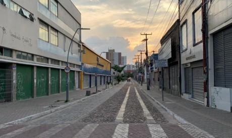 Movimentação em Fortaleza durante o lockdown