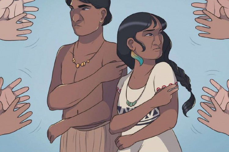 HQ Língua Indígena de Sinais (Foto: HQ Língua Indígena de Sinais)