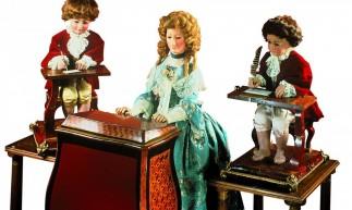 Mais de 250 anos depois, os autômatos criados pelo suíço Jaquet-Droz continuam operantes