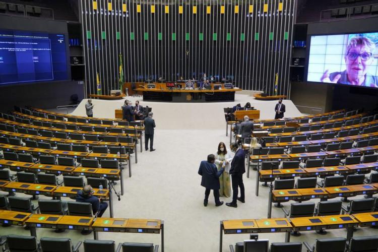 04/03/2021 - Plenário - Sessão Extraordinária Deliberativa (Foto: Pablo Valadares/Câmara dos Deputados)